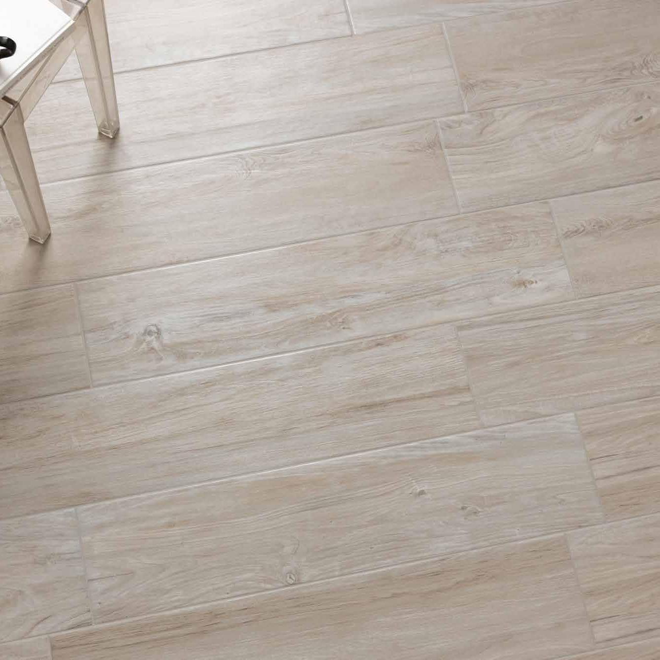 Gres Porcellanato Smaltato Caratteristiche feel white, pavimento in gres porcellanato effetto legno di paul&co