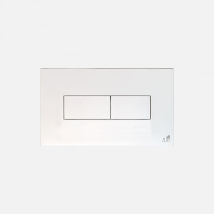 Placca Idea per cassette Idea, Idea Fix e Blu, bianca di Todini